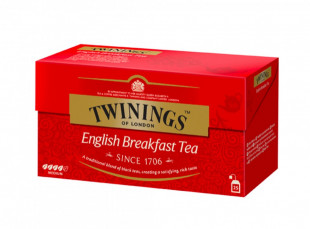 Twinings Ceai Negru English Breakfast 25 x 2g
