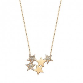 925 Silver Jewelry Wholesale Turkish Star Necklace images