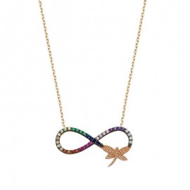 infinity Necklace Silver in Turkish Wholesale images