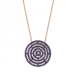 Geometric Style Silver 925 Necklace Wholesale images