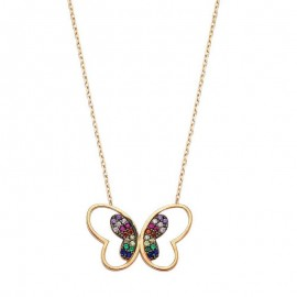 Wholesale 925 Sterling Silver Butterfly Pendant images