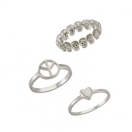 Minimal Rings Designer Turkish Silver Jewelry Wholesale images