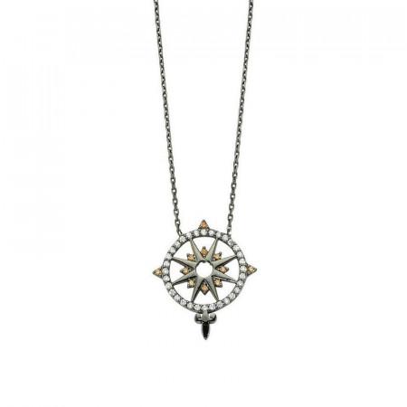 Silver Star Shape Necklace Wholesale images