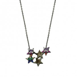 Wholesale Sterling Turkish Star Silver Necklace images