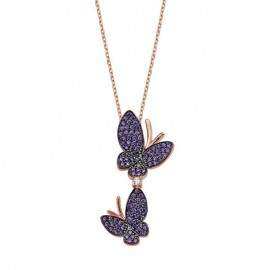 Butterfly Jewelry Wholesale Turkish Silver Pendant images