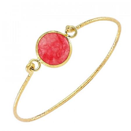 Wholesale Fashion Bangle Gold Tone images