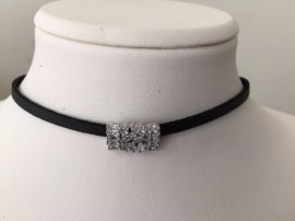 Choker Silver Necklace images
