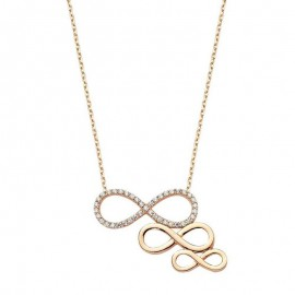Sterling Silver infinity Turkish Necklace  Wholesale images