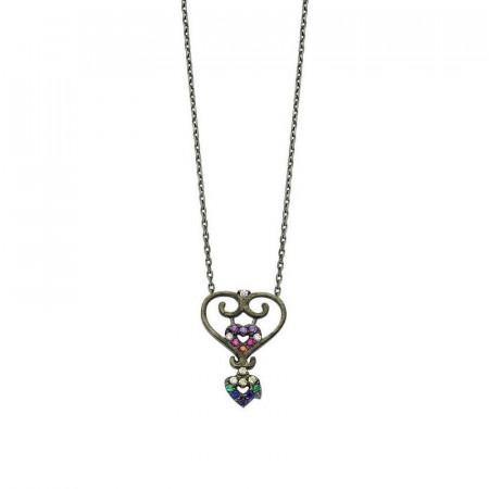 Valentine Silver Necklace Pendant Wholesale images