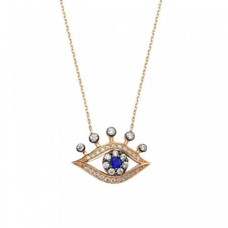 Wholesale Turkish Evil Eye Silver Necklaces&Pendants images