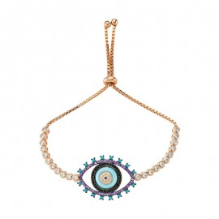 Wholesale Turkish Glass evil eye bracelet images