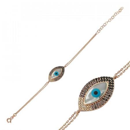 Wholesale Turkish Gemstone evil eye bracelet images