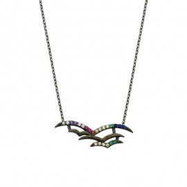Sterling Silver Bird Necklace Wholesale images