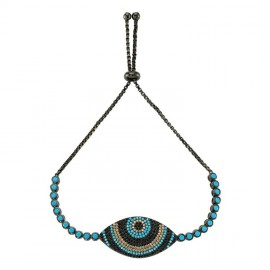 Wholesale Turkish Gemstone evil eye bracelet images