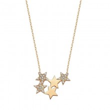 925 Silver Jewelry Wholesale Turkish Star Necklace