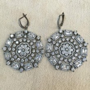 Gemstone Earring