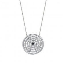 Geometric Necklace Sterling Silver 925 Wholesale