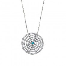 Turquoise and Silver Necklace Wholesale