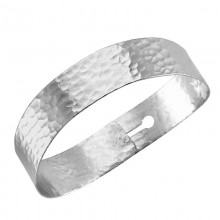 Wholesale silver cuff free size bangle