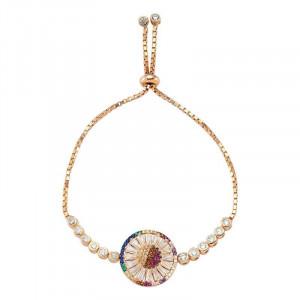 Wholesale Turkish silver gemstone bracelet