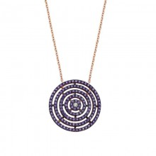 Geometric Style Silver 925 Necklace Wholesale