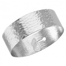 Wholesale hammered cuff bangle