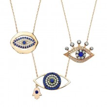 Wholesale Turkish Evil Eye Silver Necklaces&Pendants