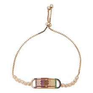 Wholesale Turkish Silver Multicolor bracelet