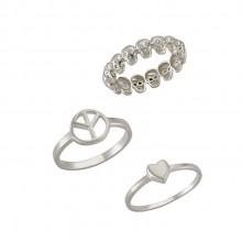 Minimal Rings Designer Turkish Silver Jewelry Wholesale