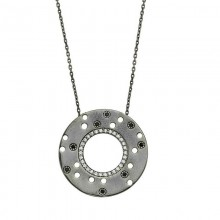 Sterling Silver Disc Necklace Wholesale