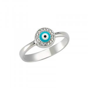 Wholesale Turkish evil eye ring