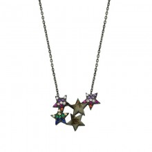 Wholesale Sterling Turkish Star Silver Necklace