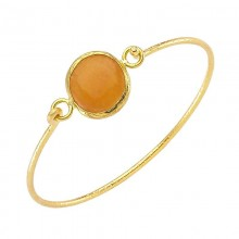 Wholesale Yellow Stone Fashion Bangle