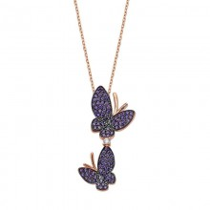 Butterfly Jewelry Wholesale Turkish Silver Pendant