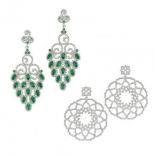 Turkish Earrrings Handcrafted 925 Sterling Silver Wholesale