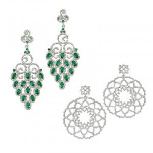 Turkish Earrrings Handcrafted 925 Sterling Silver Wholesale