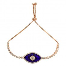 Wholesale Turkish Gemstone evil eye bracelet