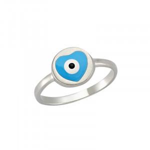 Wholesale evil eye enameled ring