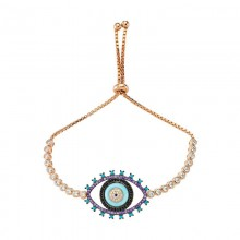 Wholesale Turkish Glass evil eye bracelet