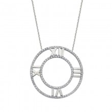 Pendant Watch Necklace Sterling Silver Wholesale