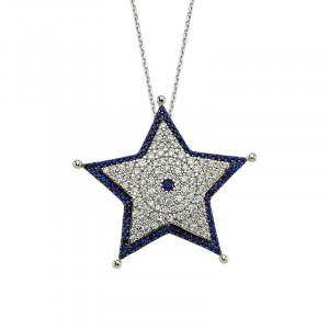 Star Necklace Designer Turkish Silver Pendant Wholesale