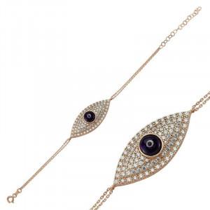 Wholesale Turkish Gemstone evil eye bracelet