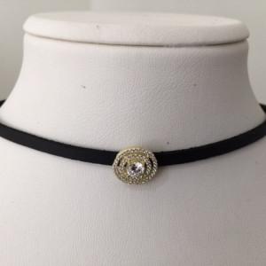 Choker Silver Necklace