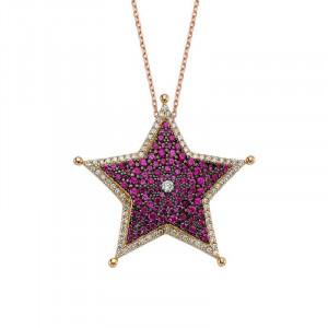 Gemstone Turkish Sterling Silver Necklace Wholesale