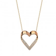 Sterling Silver Wholesale Necklace Heart
