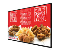ALLSEE Network Digital Menu Board 43""