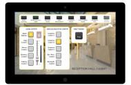 Sistem audio-video (sonorizare ambientala & digital signage) pentru hotel
