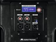 OMNITRONIC XKB-212A 2-Way Speaker, active, DSP
