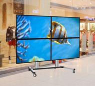 ALLMOUNTS Suport de podea mobil pentru videowall 2x2
