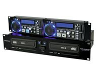 OMNITRONIC XMP-2800MT Dual CD/MP3 player